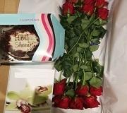 uk cake flowers