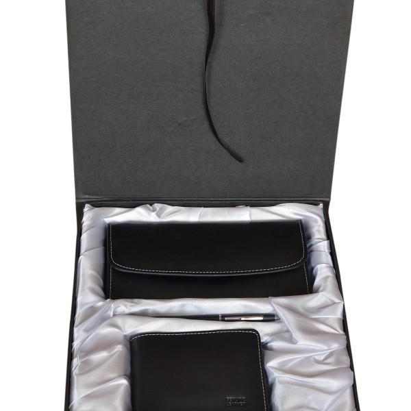 UGB-003-black-genuine-cow-leather-men-wallet-women-clutch-ruby leather-