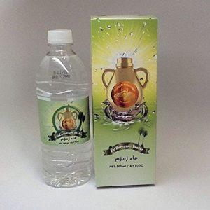 ZamZam Water from Makkah (500ml Jar) (2 Pack
