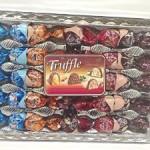 Elvan Truffle Assortment Chocolates, Turkish, 350 G, 4 Different Kinds