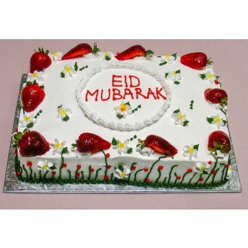 Send Halal Strawberry Cakes To Canada