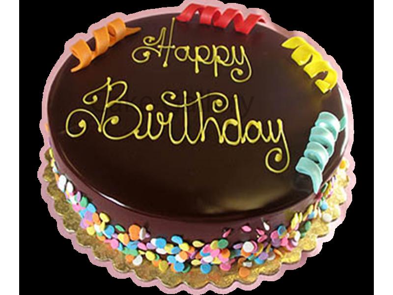 Birthday Cakes Dubai ~ Send birthday rainbow chocolate cake to dubai u courier company