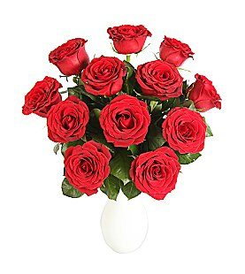 Send 12 Red Roses Flowers To UK From Pakistan