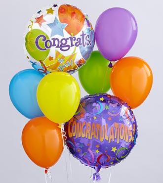 Send Congratulation balloons to USA From Pakistan