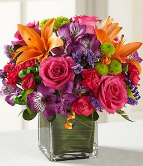 send birthday flower to USA from Pakistan