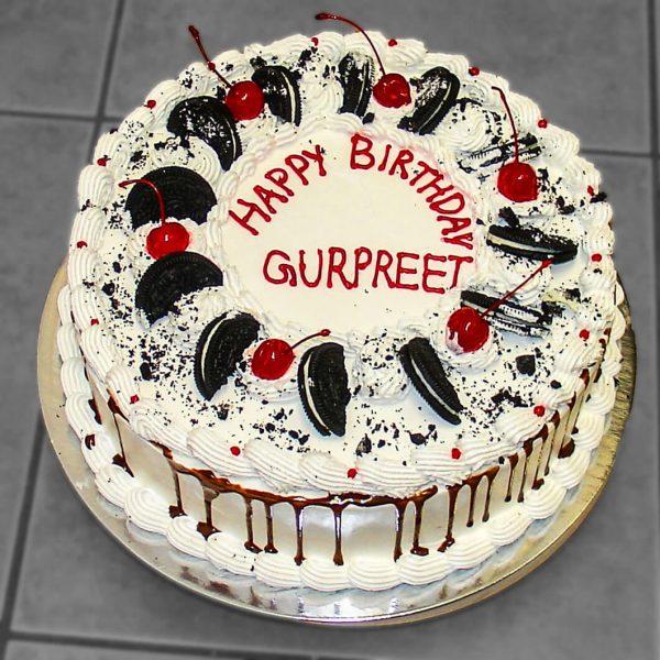 Send Birthday Halal Cake To Canada