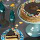 Send Golden Fudge Celebration Cake  To USA