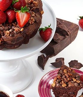 Send Chocolate Coffee Cake To USA From Pakistan
