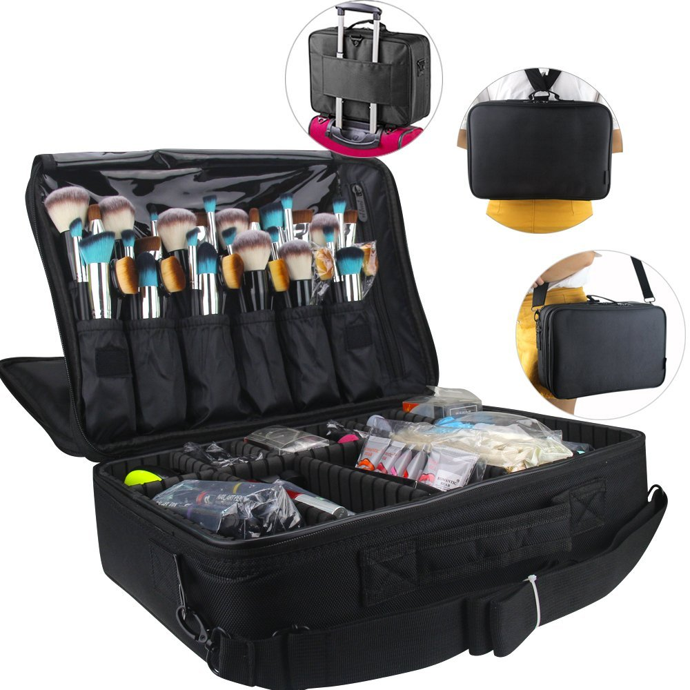 Send Professional Makeup Train Case Cosmetic Box To Uk