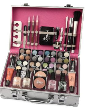 Send Cosmetic Make up Beauty Box Travel Carry Gift To UK