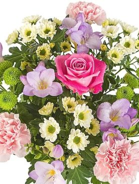 Send Colorful Flower Bouquet To England