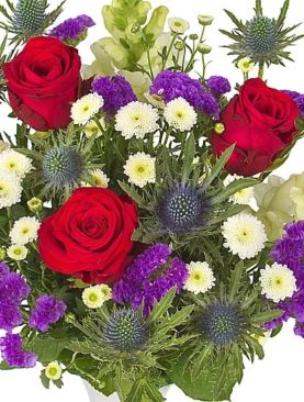 Send Wishing Birthday Flower Bouquet To London