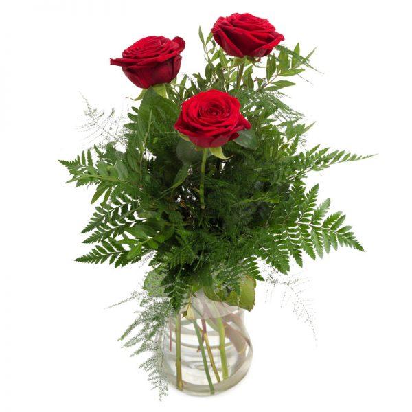 germany 3 roses flowers bouquet from karachi lahore islamabad rawalpindi pakistan
