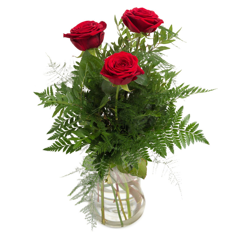 germany 3 roses flowers bouquet from karachi lahore islamabad rawalpindi pakistan