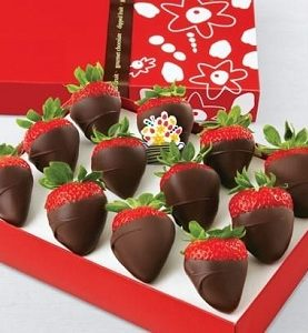Strawberries Dipped in Chocolates 12 pcs Birthday Gift from Pakistan to New York, New Jersey NJ, Pennsylvania, Philadelphia, Texas, USA
