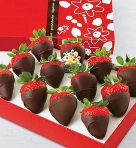 Strawberries Dipped in Chocolates 12 pcs Birthday Gift from Pakistan to New York, New Jersey NJ, Pennsylvania, Philadelphia, Texas, USA