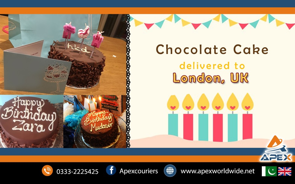 Send Cakes to London UK from Pakistan