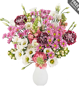 15 Mix Flowers Bouquet Reliable Online Shipping Site for Birthday Anniversary Flowers Send Surprise Gifts cheap prices from Pakistan to London Glasgow Sheffield Liverpool Leeds UK