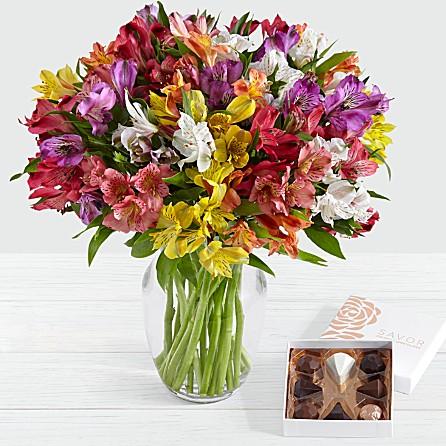 send lilies flowers from KHI ISB RWP to CA AL AZ USA