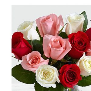 anniversary birthday i love you marry me just because roses in pink white and red color from Islamabad Rawalpindi Okara to USA