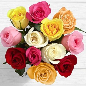 anniversary birthday valentine day roses flower bouquet from KHI Pakistan to NY USA