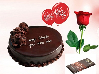 anniversary birthday celebration congratulations love you miss you thinking of you just because cake chocolate rose from Sialkot Gujranwala to UAE