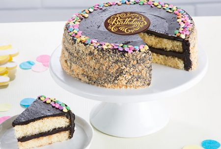 anniversary birthday celebration chocolate fudge cake for valentines day for hubby wifey gf bf husband wife love relationship from KHI ISB LHE RWP to USA