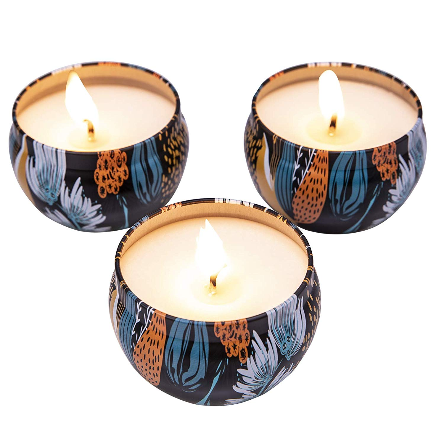 anniversary birthday romance valentine day special occasion candles in a jar flowery fragrance from Pakistan to UK