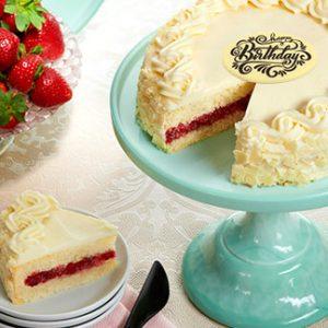 anniversary birthday valentine day cake strawberry filling from karachi lahore islamabad pakistan to USA