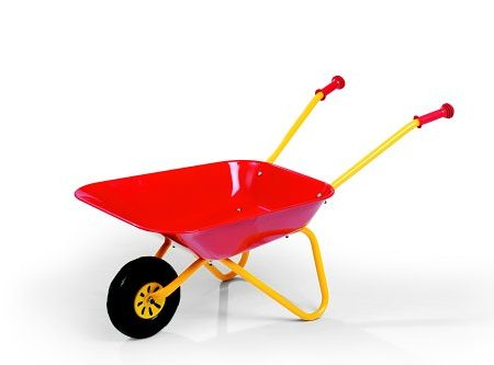 Red Wheelbarrow toys for 2.5 years old boys and girls