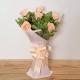 6-peach-roses-birthday-anniversary-flowers-karachi-lahore-islamabad-to-jeddah-saudi-arabia