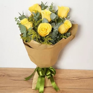6-Yellow-Roses-birthday-anniversary-flowers-karachi-lahore-islamabad-to-jeddah-saudi-arabia