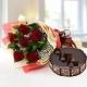 6-red-roses-with-chocolate-cake-birthday-anniversary-flowers-karachi-lahore-islamabad-to-jeddah-saudi-arabia