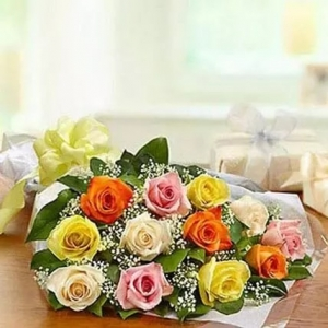 mix-presentation-bunch-birthday-anniversary-flowers-karachi-lahore-islamabad-to-jeddah-saudi-arabia