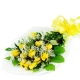 Perfect Wrapped Long-Stemmed Yellow Roses-Flowers to Canada from Pakistan
