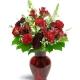 Rosy Rapture Flowers to Toronto, Mississauga, Ontario, Alberta, Calgary, Hamilton, Ottawa, Montreal, Winnipeg allover Canada from Karachi, Lahore, Islamabad Pakistan