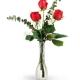 three-red-roses-Flowers to Toronto, Mississauga, Ontario, Alberta, Calgary, Hamilton, Ottawa, Montreal, Winnipeg allover Canada from Karachi, Lahore, Islamabad Pakistan