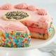 strawberry funfetti anniversary birthday cake to usa from pakistan